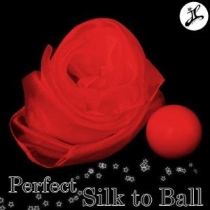 Foulard en balle ( Rouge ) Perfect Silk to Ball ( Magie Ballons Services )