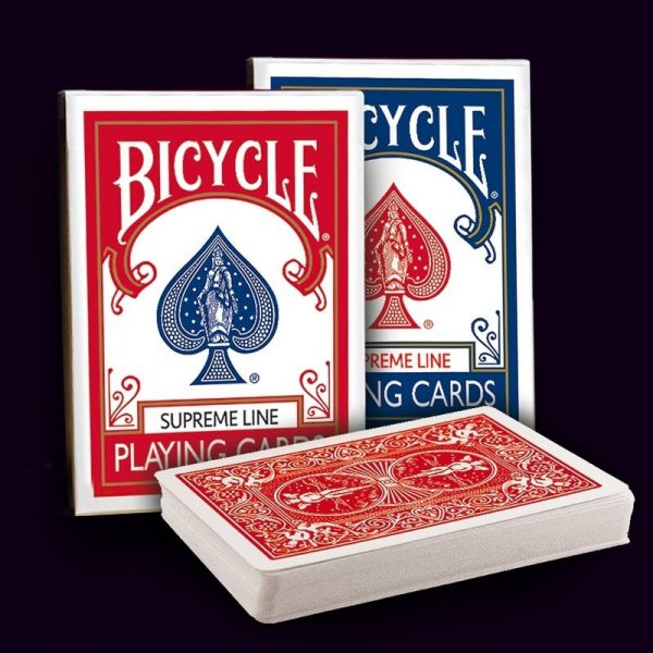 Cartes Bicycle Supreme line , Cartes pour magiciens Professionnels( Magie Ballons Services)
