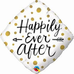 Ballon Losange Happily Ever After