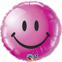 Ballon rond Smiley Berry